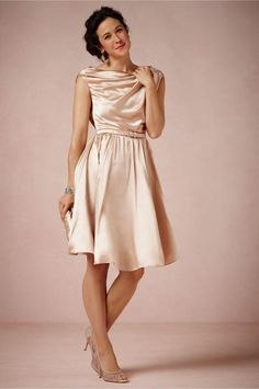 Discount 2015 Glamorous Short Bridal Reception Dress Wedding Party Dresses Pleat Sash Knee Length Bridesmaid Dress A Line Bride Reception Dress Cheap Online with $98.7/Piece | DHgate