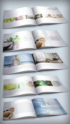 Spa Center Brochure Template by yderindere (via Creattica)