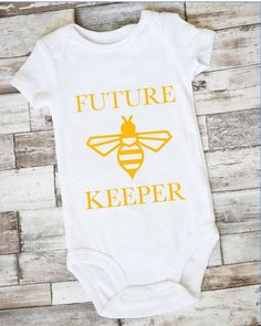 Bee Keeper Onesie Bee Keeper Shirt Bee Baby Gift Bee