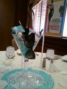 Centerpieces..no sunglasses but something like this?