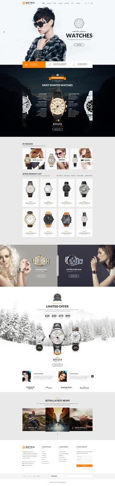 Setra - PSD Template extracts whatever is called sophistication of a graphic artwork which will absolutely drive your webshop to a top-notch quality. The homepage itself comes up with 3 different layouts for various options. Moreover, the shop is consoli…
