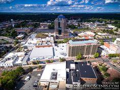 - MetroScenes.com - Downtown Durham, NC Skyline and Aerials - City Skyline and…