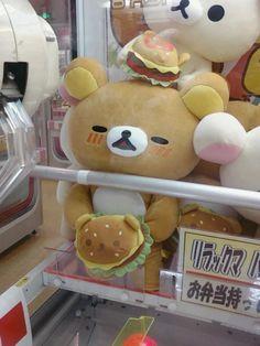 kawaii, bear, and rilakkuma image