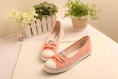 Zapatos de moda casual femenina Primavera , verano y otoño   Precio: $ 96.000  Tallas: 4.5 5 6 7 8  Colores.  -blanco -rosa -caqui -cerceta -marina de getta