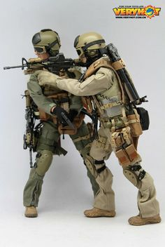 toyhaven: VeryHot 1:6 USMC Force Recon VBSS (OD) PREVIEW