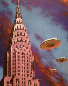 UFOs over Metropolis