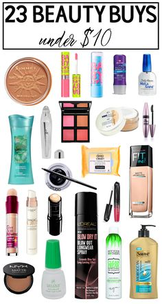 23 Beauty Buys Under $10 – Hairspray and Highheels