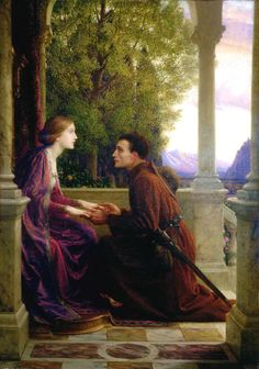 Title: The End of the Quest, 1921  Artist: Sir Frank Bernard Dicksee  Location: Leighton House Museum London United Kingdom