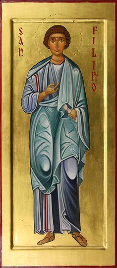 San Filippo apostolo per mano di Maria Marciandi (Italy)