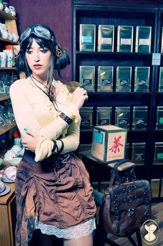 Tea Travel by Zombie Girl Magazine