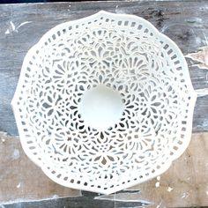 Isabelle Abramson lace bowl