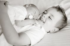 sweet photos of new baby & siblings @Monica Johnson