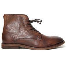Men's Smyth (Brown) Leather Boots   H by Hudson