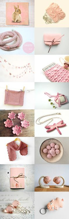 lovely pink by Valentina on Etsy--Pinned with TreasuryPin.com