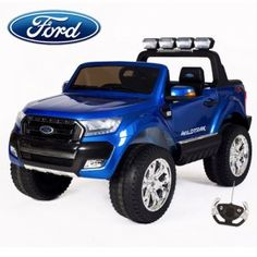 NEW SHAPE Official Ford Ranger 2 Seater Kids Electric Jeep! Ford is known for its super cool pick up trucks and the latest model to hit the streets is the 2018 Official Ford Ranger 2 Seater Kids Electric Jeep Cool Picks, Kids Ride On, Ford Ranger, Jeep, Bb, Electric, Trucks, Shape, Cars