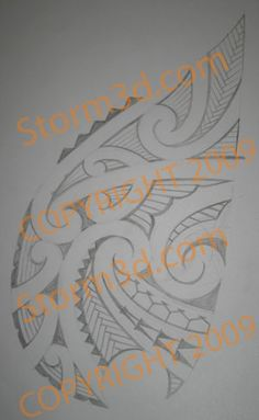 chest-tattoo-design-maori-style