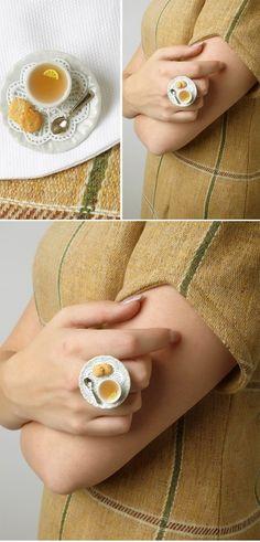DIY INSPIRATION: Miniture Plate Ring