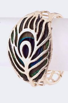 peacock cuff - one of the better ones