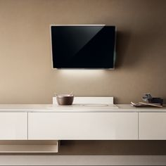 A technological soul is behind the simple lines. New kitchen hood from Elica ELLE designed by FABRIZIO CRISÀ.
