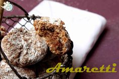 Amaretti-Kekse zur Eiweissvernichtung Muffin, Yummy Food, Sweets, Cookies, Chocolate, Baking, Breakfast, Desserts, Recipes