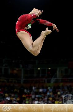 Lauren Hernandez Photos - Lauren Hernandez of the United States competes in the Balance Beam Final on day 10 of the Rio 2016 Olympic Games at Rio Olympic Arena on August 15, 2016 in Rio de Janeiro, Brazil. - Gymnastics - Artistic - Olympics: Day 10