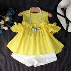 Kids Dress Wear, Little Girl Outfits, Toddler Girl Dresses, Toddler Outfits, Kids Outfits, Cute Outfits, Fashion Kids, Baby Girl Fashion, Baby Dress Design