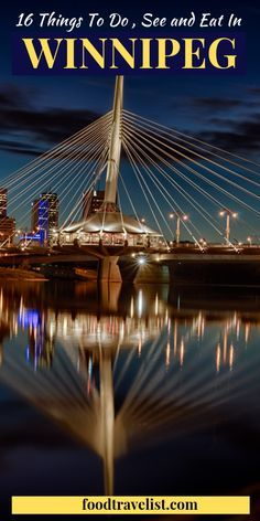 When You Think Of Travel To Canada You Might Not Think Of Winnipeg In Manitoba You Should This Vibrant City Is Winnipeg Canada Canada Travel Canadian Travel