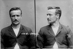 Daniel Tohill (incorrectly labelled as Daniel Lohill), born in 1881 in New Zealand. Charged with theft and sentenced to 4 months hard labor on 2 March 1908 in Napier. Photograph taken on 11 June 1908 by the New Zealand Police; image via the archives  of the New Zealand Police Museum.