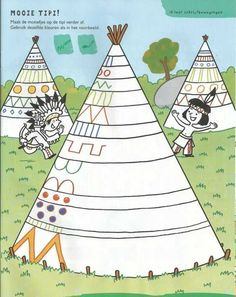 Precious Tips for Outdoor Gardens - Modern Preschool Art Activities, Drawing Activities, Classroom Activities, Drawing For Kids, Art For Kids, Wild West Theme, Indian Crafts, Pattern Drawing, Native American Art