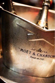 Moet & Chandon, Cristal, and Dom Perignon - the BEST champagne! Moet Chandon, Cheers, Le Croissant, Champagne Buckets, Champagne Drinks, Champagne Party, Cocktails, In Vino Veritas, Nouvel An
