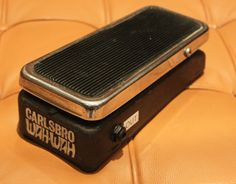 Vintage Carlsbro Wah Wah Coloursound Guitar Effects Pedal Chrome Black SERVICED