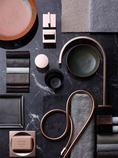 Explore Dornbracht's innovative Products and Designs for Bathroom, Kitchen and Shower. Discover the Healing Power of Water in a Customized Solution by Dornbracht. Colour Schemes, Color Patterns, Moodboard Interior, Mood And Tone, Web Design, Colour Board, Color Inspiration, Moodboard Inspiration, Inspiration Boards