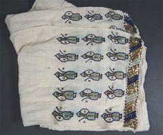 Rare Ottoman Turkish Sarma Linen&Gold Cotton Embroidery Ibrik Peshkir Bath Towel