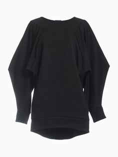 Shaped Sweatshirt • HANA ZARUBOVA Hana, Spring Summer, Sweatshirts, Blouse, Long Sleeve, Sleeves, Sweaters, Tops, Women