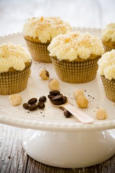 Hazelnut Coffee Cupcakes | Cupcake Project