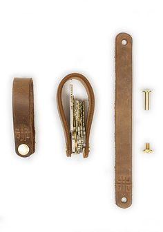 Schlüsselring / Leder DIY