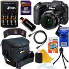 Nikon COOLPIX L840 16MP CMOS Digital Camera (Black)  Batts.& Charger  16GB Kit - #digitalcamera #digitalcamcorder #palmsizecamera #discountdigitalcameras
