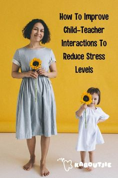 Stress affects everyone, including children. Here are some ways to reduce your child's stress levels through improving child-teacher interactions.  #parenting #stress #kids #school #mommy #children #mentalhealth