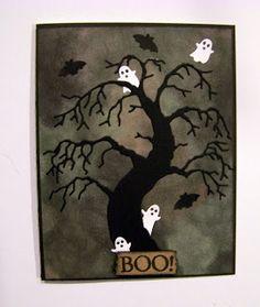 Memory Box Halloween cards