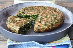 Tortilla de Acelga Grain Brain, Happy Foods, Empanadas, Salmon Burgers, Yummy Food, Healthy Recipes, Healthy Food, Beef, Vegetables