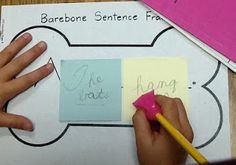 noun-verb and beyond Kindergarten Writing, Teaching Writing, Teaching Tools, Teaching Ideas, Literacy, 2nd Grade Ela, Grade 2, Parts Of A Sentence, Grammar Sentences
