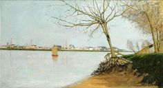 "maufra maxime banks of the loire 1889 sotheby (from <a href=""http://www.oldpainters.org/picture.php?/30153/category/13215""></a>)"