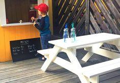 Slik bygger du en piknikbenk i barnestørrelse - viivilla.no