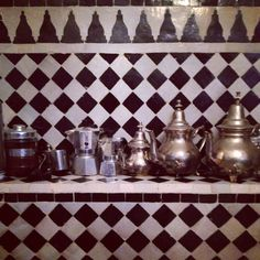 coffee and tea lovin' in marocco Marrakech, Interior Decorating, Interior Design, Kitchen Dining, Content, Pure Products, Inspired, Coffee, Decoration