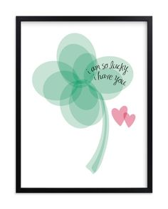 Lucky Clover - Hochzeit Kunstdruck von Christy Incredible Lucky Clover - Wedding Art Print by Christy printing Lucky To Have You, Love You, Wedding Art, Love Notes, Love And Marriage, Marriage Thoughts, Love Of My Life, Relationship Quotes, Relationships