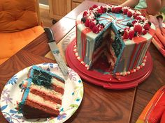 [homemade] 'Murica Cake (x-post r/baking)
