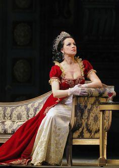 Angela Gheorghiu as Floria Tosca in La Tosca by Giacomo Puccini (San Francisco Opera)