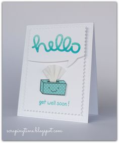 Get well soon card!