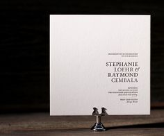 wedding invitations modern