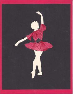 Iris folded dancer - Scrapbook.com